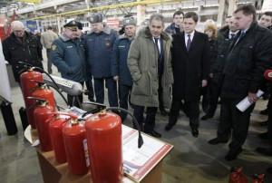 7 февраля 2012 года Министр по делам ГО ЧС С. К. Шойгу побывал на стенде группы предприятий РИФ